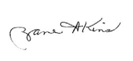 Zane Akins Signature